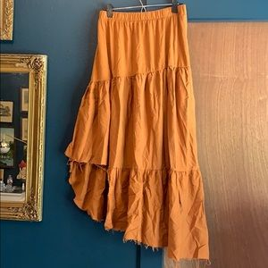 Zara tiered skirt size Large